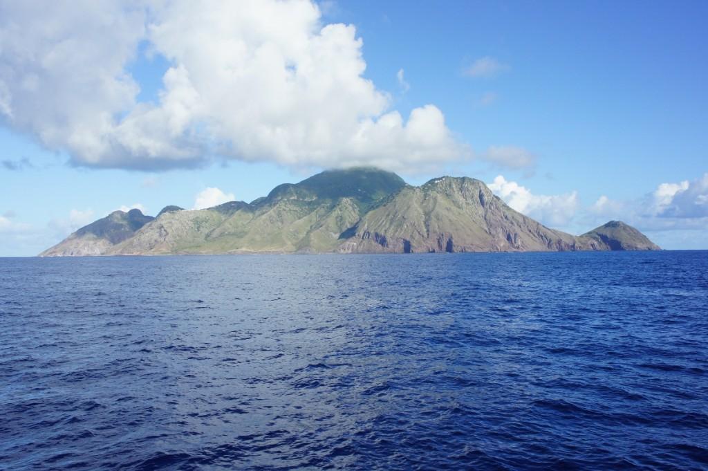 Arrivée à Saba
