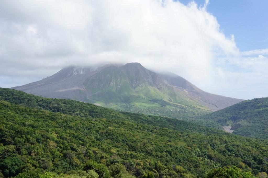 Le volcan de Montserrat