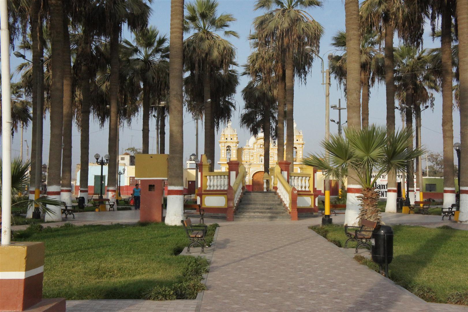 La plaza de Armas d'El Carmen